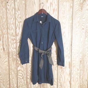 Old Navy denim shirtdress szL